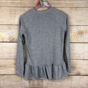Anthropologie Tops - Anthropologie Pure + Good peplum sweatshirt XS A11